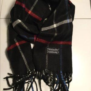 Christian Dior cashmere scarf